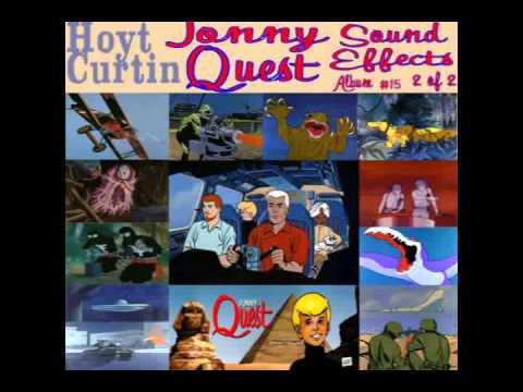 Jonny Quest Music Soundtrack- #15 Sound Effects Album  2 of 2