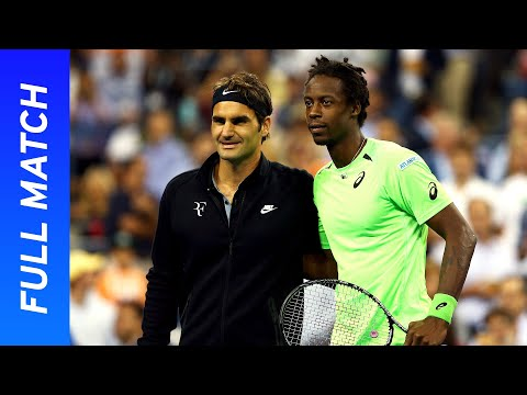 Roger Federer Vs Gael Monfils In A Five-set Thriller! | US Open 2014 Quarterfinal