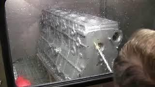 Lavadora de piezas para limpieza en modo manual - lavadora para la industria
