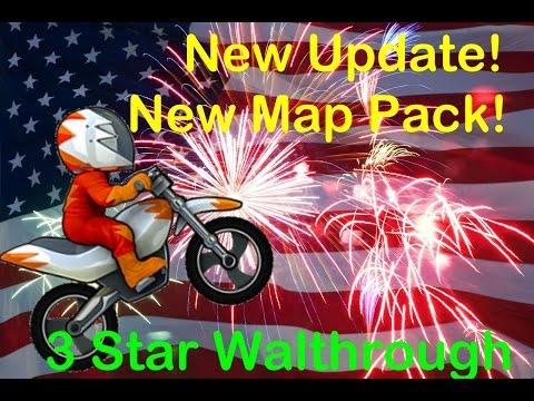 Bike Race New Update! 4th Of July 3 Star Walkthrough!