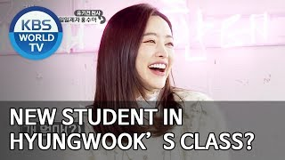 New student in Hyungwook's class? [Dogs are incredible/ENG/2020.01.28]