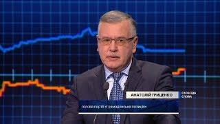 Гриценко: Я не вводил бы военное положение