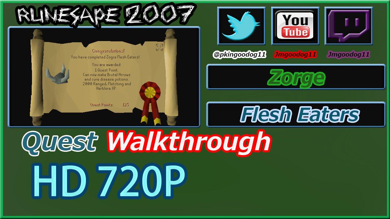 Zogre Flesh Eaters Quest Guide 2007