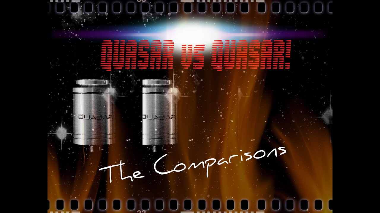 Quasar Rda By Cosmic Innovations Clone Vs Original Youtube