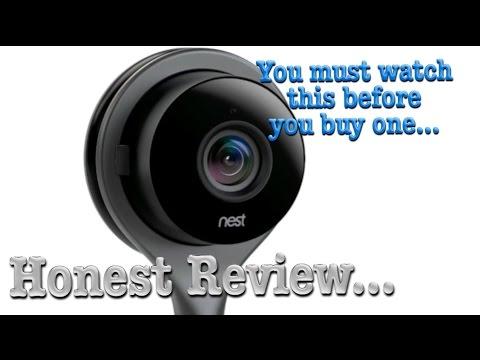 Nest Cam - An Honest Review.. Setup, Demo & Unboxing