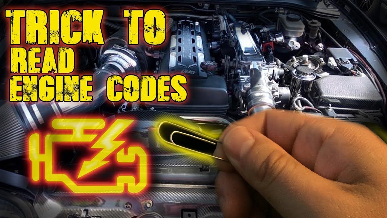 Check engine light on? DIY check engine light reader for MKIV Toyota Supra