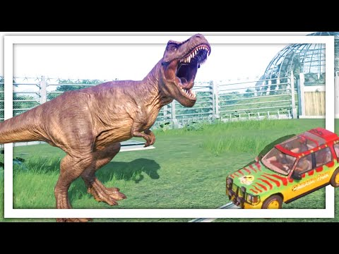 I Built A Jurassic Park To Terrify It's Guests In Jurassic World Evolution Update DLC