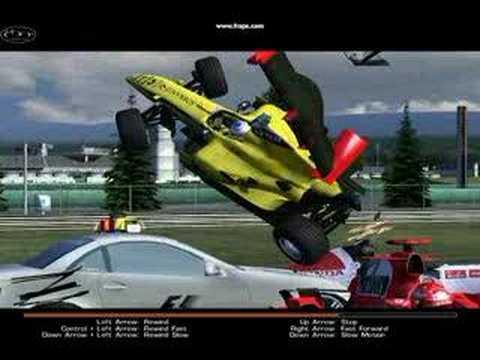 Formula One 2005 Crashes [GAME...