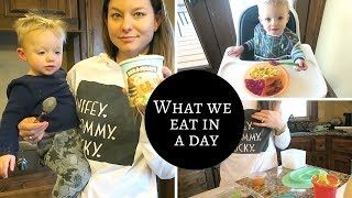 What We Eat in a Day | Pregnant Mama & Toddler