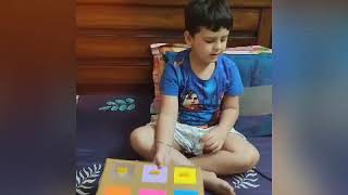 Educational activities for kids at home| Fun Game for Kids Montessori