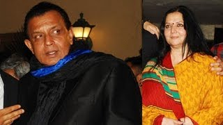 Mithun Chakraborty Scared Of His Wife !