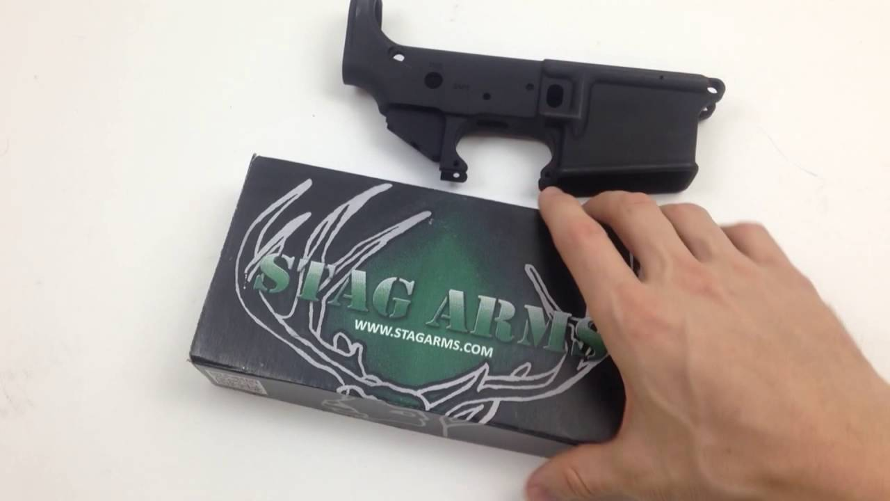 Stag Arms Lower | What's in the box?