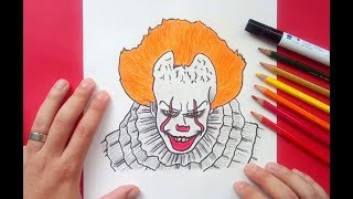 Como dibujar a IT (Eso) paso a paso  | How to draw IT