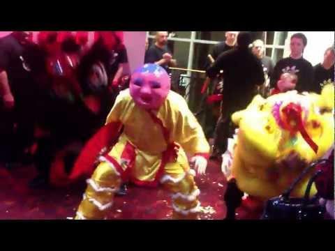 CNYA lion dance 2013 @ Leo casino Liverpool