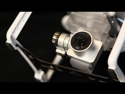 DRONE HELP - DJI Phantom Camera Lens Cover Removal and Cleaning - How to video