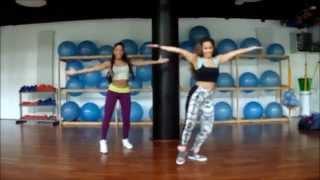 "Grécia Maíra & Gabriela ""Like a Boss"" by Machel Montano  Zumba® Fitness"