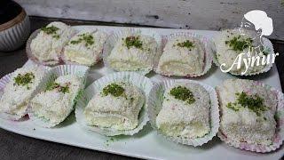 Cevizli sadrazam lokumu Tarifi# Türkische Nachspeise mit Milch und Walnüsse