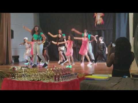 Latin Fever on 2 Recital 2017- Hip Hop Challenge