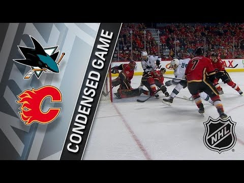 San Jose Sharks vs Calgary Flames – Mar. 16, 2018 | Game Highlights | NHL 2017/18. Обзор