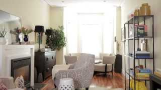 Interior Design — Small & Narrow Family Room Makeover
