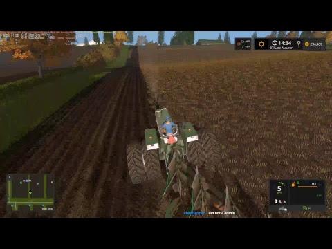 RDAllen Live Farming Simulator Snettertons Farm Finding Gold! 08 15 17