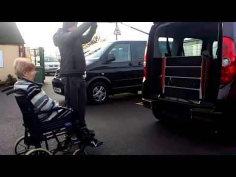Wheelchair Accessible Fiat Doblo