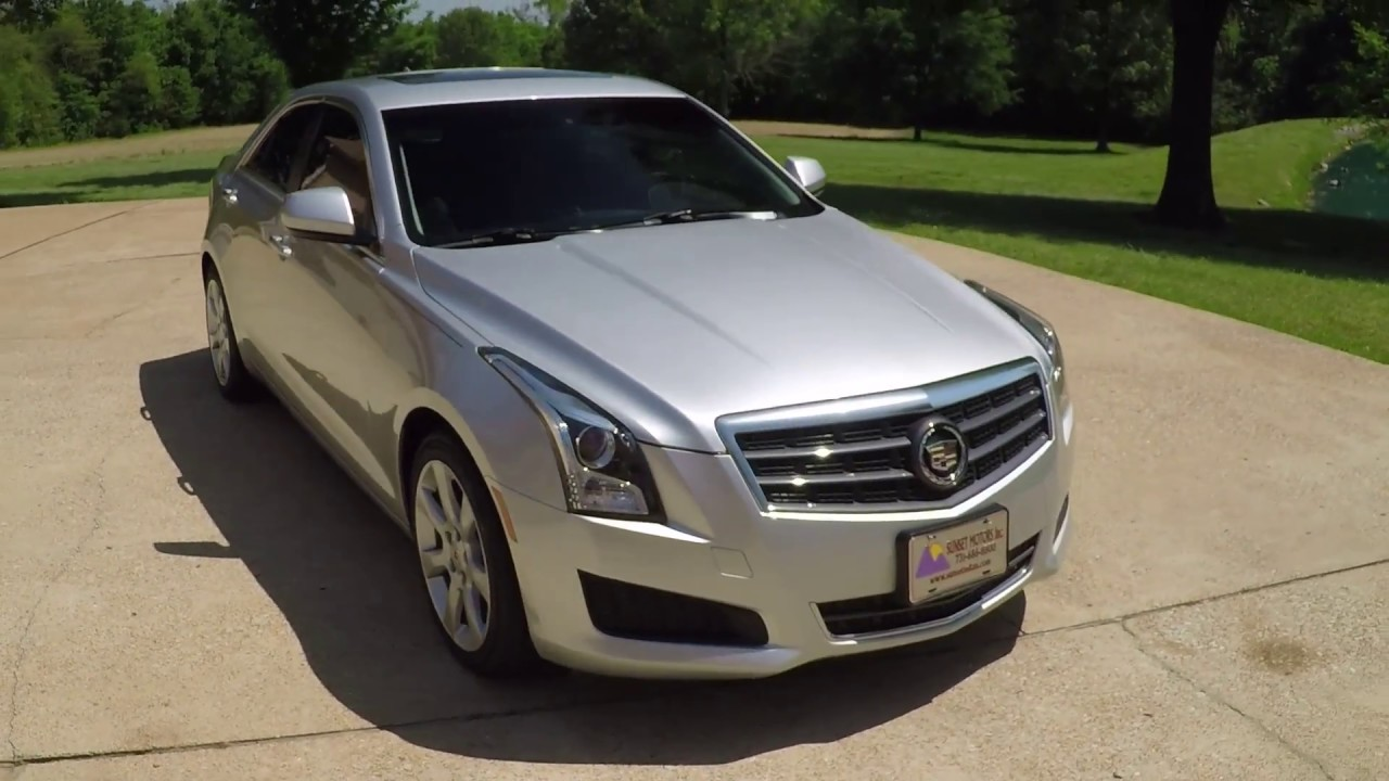 Used Cadillac Ats >> West Tn 2013 Cadillac Ats 2 0t Silver Used For Sale Low Miles Info