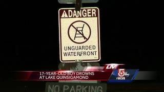 17-year-old boy drowns in Lake Quinsigamond
