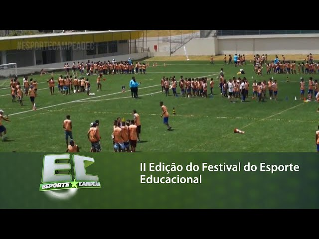 IIEdição do FestivaldoEsporteEducacional