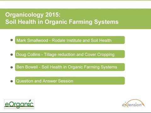 Organicology 2015: Soil Health in Organic Farming Systems