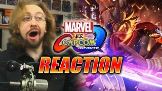 MAX REACTS: Strider Reveal & Story Trailer 1 - Marvel Vs. Capcom Infinite