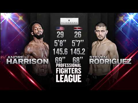 #PFL:Everett: Andre Harrison vs. Steven Rodriguez Main Event Full FIght