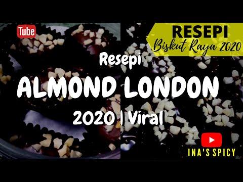 resepi-biskut-almond-london-|-biskut-raya-2020-|-viral-|-enak-dan-ranggup-|-inas-spicy