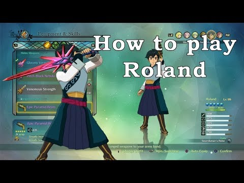 Ni No Kuni 2 - How to Play Roland