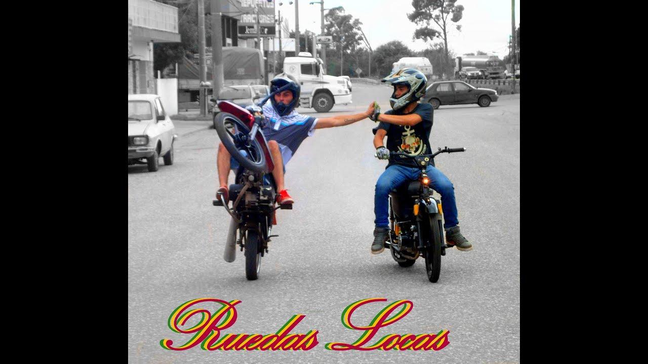 Motos 110 Stunt >> Ruedas Locas - JESUS MARIA - YouTube