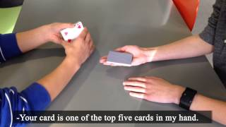 this card trick will blow your mind hd 1080p magic joy