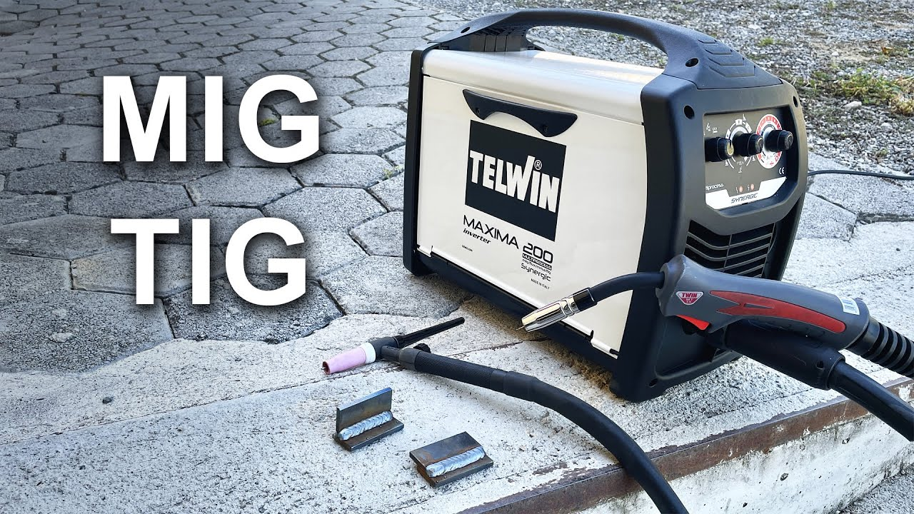 Multi (MIG) Welding Machine - TELWIN Maxima 200 Synergic | Unboxing and Test