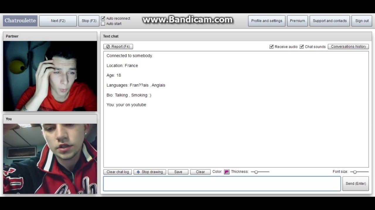 Chat Roulette Fun ;D - YouTube