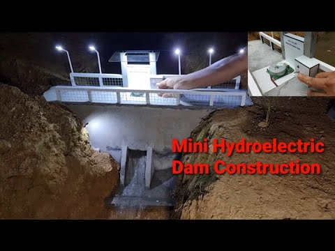 Mini Hydroelectric Dam Construction