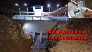 Mini Hydroelectric Dam Construction