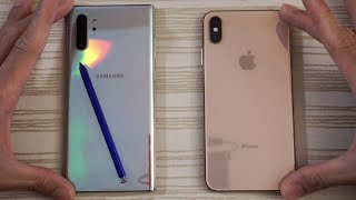 Note 10 Plus vs iPhone XS Max SPEED TEST! Which is BEAST?!