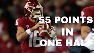 #8 Washington State INSANE 55 Point First Half vs Arizona