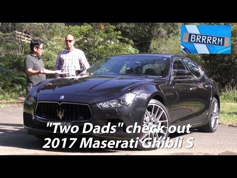 """2017 Maserati Ghibli S (Review) 