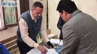 بالفيديو: وزير الشباب والرياضة يدلي بصوته في التعديلات الدستورية