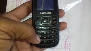 Samsung e1207t  hardreset