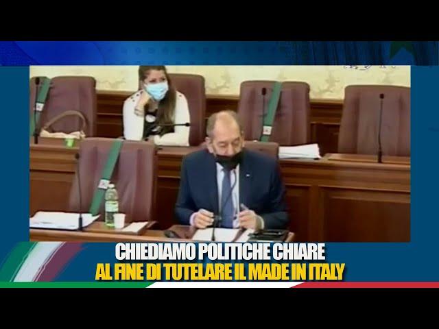 Il Senatore La Pietra nell'audizione del ministro Patuanelli in Commissione Agricoltura