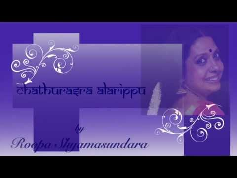 Chaturasara Alarippu by  Roopa Shyamasundara