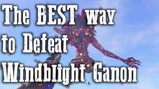 The BEST way to defeat Windblight Ganon - Vah Medoh