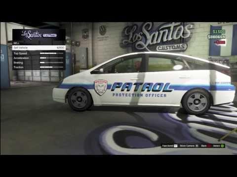GTA V Online - Customizable Merryweather Patrol Car