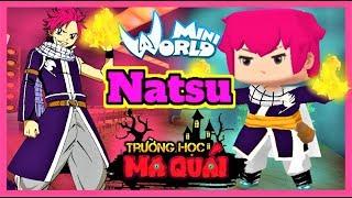 TRƯỜNG HỌC MA QUÁI: -tập 20- 1 ngày làm Natsu | Thử thách thi đấu nấu ăn cùng Timmy trong mini world